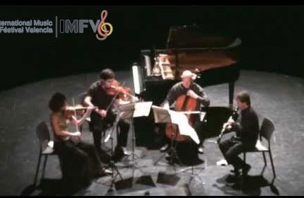 Crusell, quartet for clarinet and strings I, Joan Enric Luna, IMFV 2012