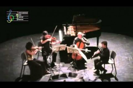 Crusell, quartet for clarinet and strings II, Joan Enric Luna, IMFV 2012